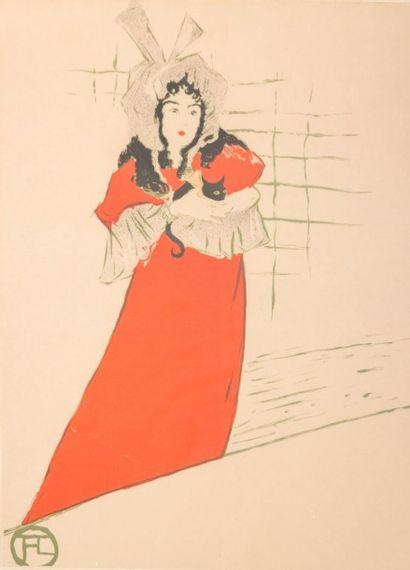 TOULOUSE-LAUTREC Henri de (1864-1901)  d'après...