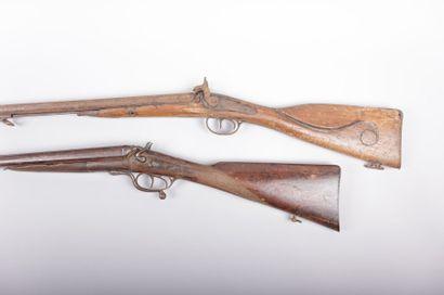 Fusil de chasse - Cal. 12/65 - canons  juxtaposés...