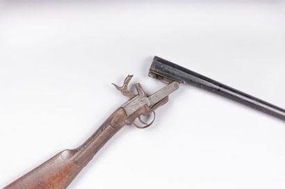 Carabine dite « de braconnier » - pliante...