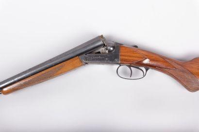 Fusil de chasse BERGERON - Cal. 16/70 -  canons...