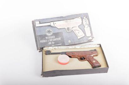 Pistolet à air comprimé - H.W.M. - Cal. 4,5...