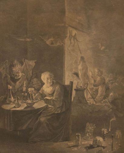 TENIERS II David (1610-1690) d'après (dessinateur)...