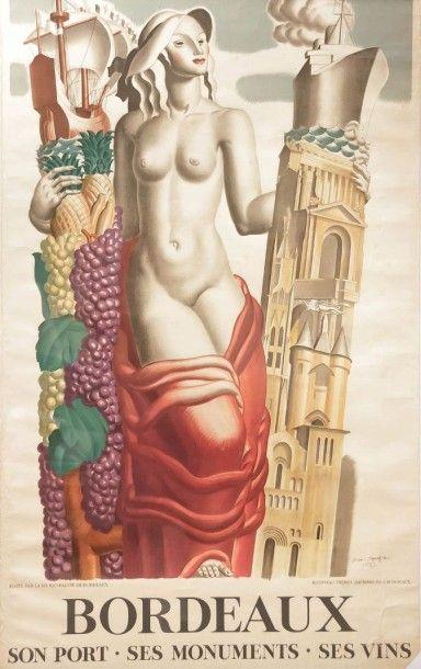 DUPAS Jean (1882-1964) d'après -  Imprimerie...