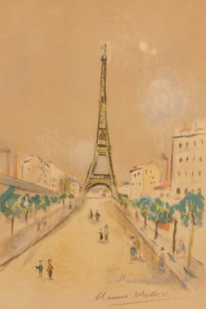 UTRILLO Maurice (1883-1955), dans le  goût...
