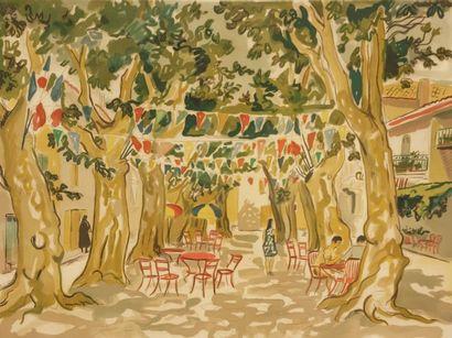 BRAYER Yves (1907-1990)  Place du marché...