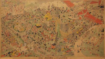 PIL (XXème siècle)  Fête sportive et champêtre...