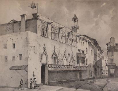 DAUZATS Adrien (1804-1868) d'après  (dessinateur)...