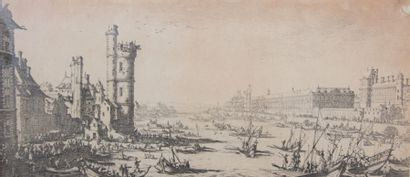 CALLOT Jacques (1592-1635)  Les deux grandes...