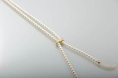 Collier de style négligé orné de perles de...