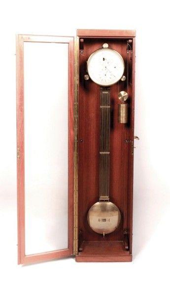 FENON Auguste (1843-1913) Régulateur à secondes...