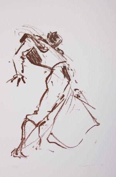 DAUGUET Jean-Claude (1939-2002)  Le Torero...