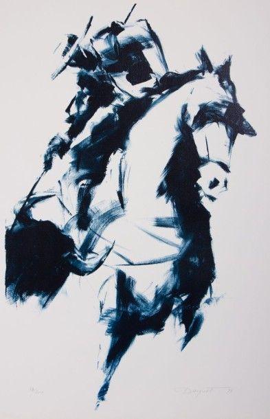 DAUGUET Jean-Claude (1939-2002)  Le Picador...