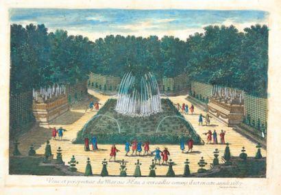 AVELINE Antojne (1691-1743) (graveur)  Veue...