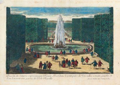 AVELINE Antoine (1691-1743) (graveur)  Veue...