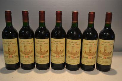 7 BllesCH. LA TOUR DE GRENETLussac St Emilion1994...