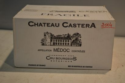 6 BllesCH. CASTÉRAMédoc CBS2004  Carton...