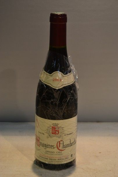 1 BlleMAZOYÈRES CHAMBERTIN GC mise Dom....