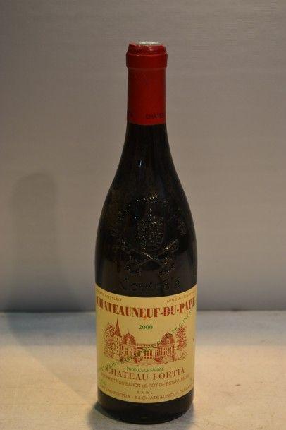 1 BlleCHÂTEAUNEUF DU PAPE mise Château Fortia2000...