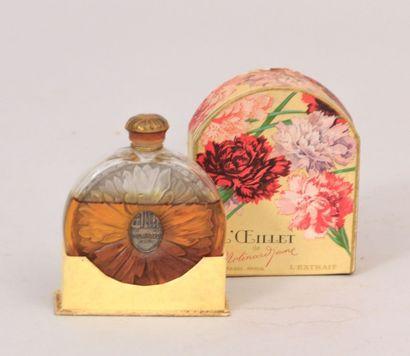 MOLINARD JEUNE  Flacon de parfum de forme...
