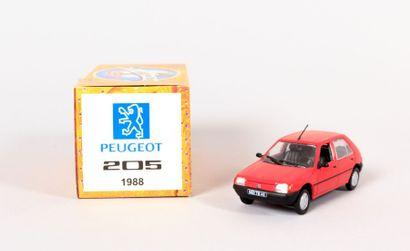 NOREV (CH)  Peugeot 205 1988 - N°LD7974  Echelle...