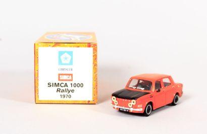 NOREV (CH)  Simca 1000 Rallye 1970 - N°MG8926...