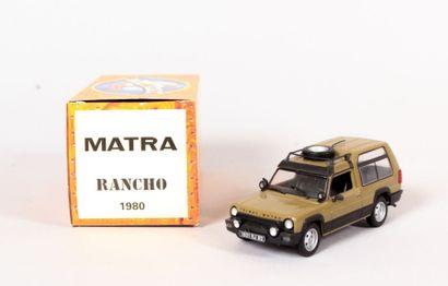 NOREV (CH)  Matra Rancho - N°MA5559  Echelle...