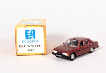 NOREV (CH)  Peugeot 604 STi 1983 - N°LJ2987...