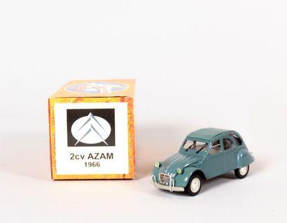 NOREV (CH)  Citroën 2cv AZAM 1966 - N°MF6258...