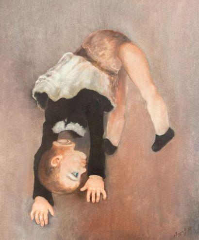 BASSIOLI (XXème siècle)  La poupée démenbrées...