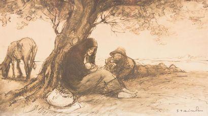 STEINLEN Théophile Alexandre (1859-1923)...