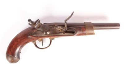 Pistolet d'arçon modèle An XIII - platine...