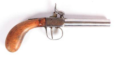 Pistolet de poche à percussion - canon rond...