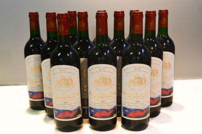 12 BllesCH. TOUR CALONMontagne St Emilion1994...