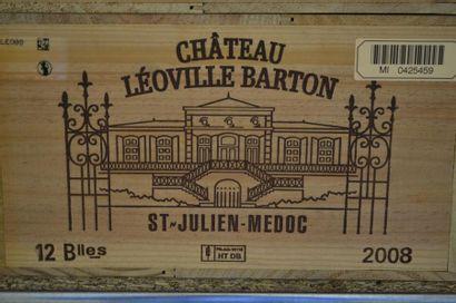 12 BllesCH. LÉOVILLE BARTONSt Julien GCC2008...