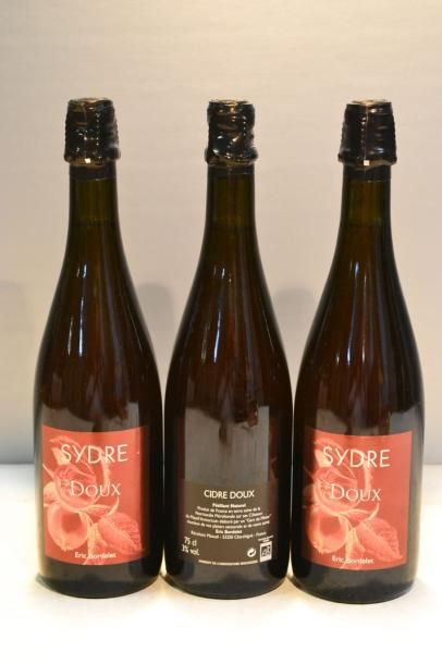 3 BllesSYDRE (Cidre Doux) mise Eric Bordelet...