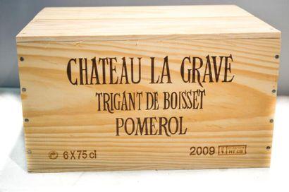 6 BllesCH. LA GRAVE TRIGANT DE BOISSETPomerol2009...