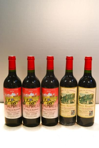 5 BllesCH. FREYCHAUD1ères Côtes de Bx2004...