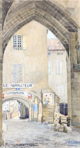 GIRARD Léon (XXème siècle)  Villefranche...