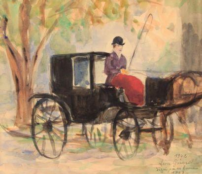 GIRARD Léon (XXème siècle)  - Chaudes Aigues...
