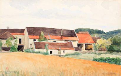 GIRARD Léon (XXème siècle)  Essoyes (Aube)...