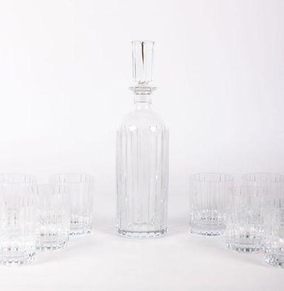 BACCARAT  Service de verre en cristal modèle...