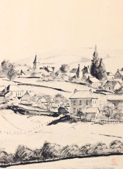 GIRARD Léon (XXème siècle)  Anosti (Saône...