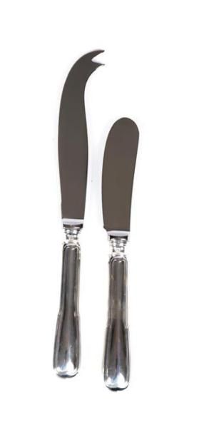 Couteau à beurre et couteau à fromage, les...