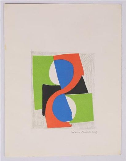 DELAUNAY-TERK Sonia (1885-1979) d'après  Correspondance...