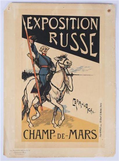 CARAN D'ACHE (1858-1909) - Emmanuel Poiré...