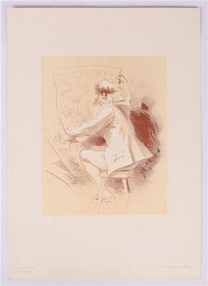 CHERET Jules (1836-1932), d'après  Concert...