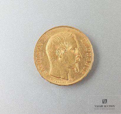Une pièce de 20 Frcs Napoléon III 1858 Poids...