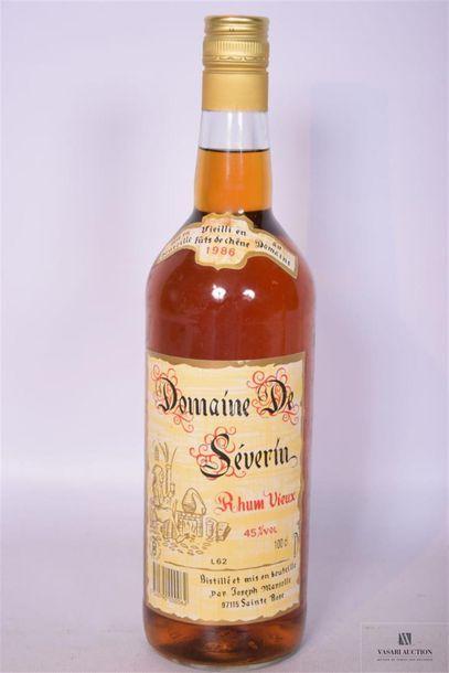 1 x 1 LRhum Vieux DOMAINE SÉVERIN (Guadeloupe)1986...