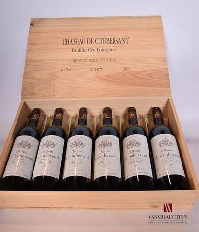 12 BllesCH. DE COUBERSANTPauillac CB1997...