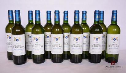 12 BllesCH. DE FIEUZAL Graves blanc1999...
